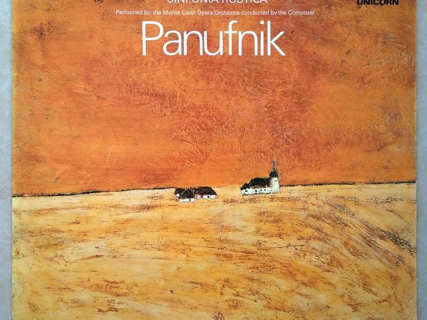 Unicorn/Panufnik - Sinfonia Sacra, Sinfonia Rustica The composer conducted the Monte Carlo Opera Orchestra / NM