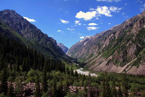 Around the Pearl of Central Asia (7 days, 3* hotel)
