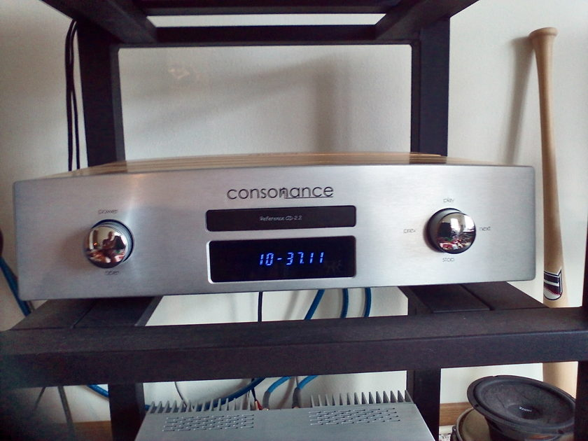 Consonance CD-2.2 MkII Reference Flawless, Superior Sounding Player