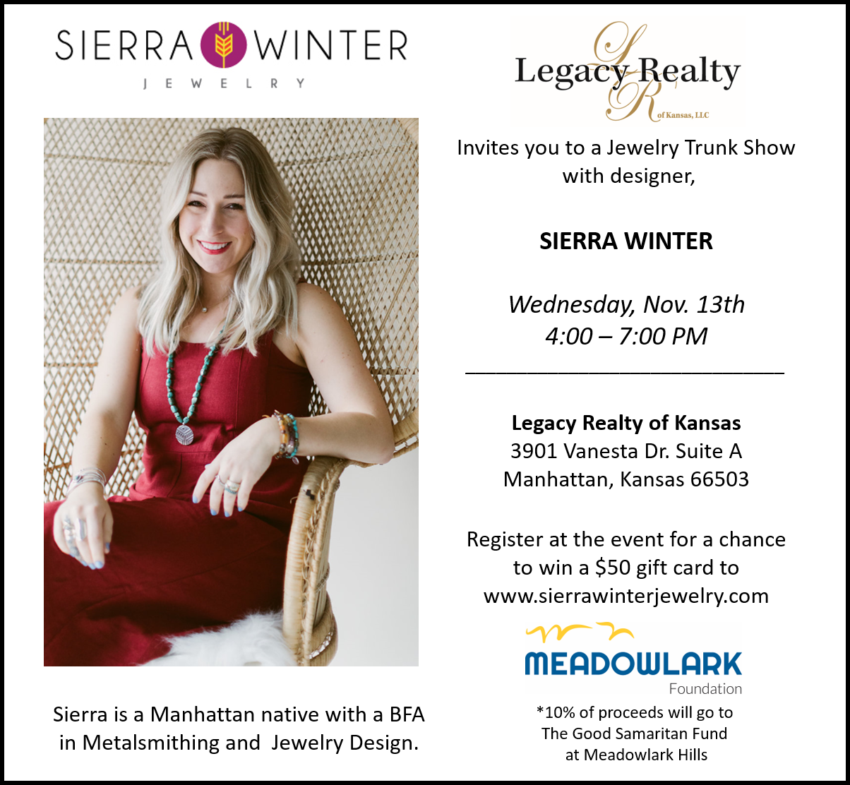 Legacy Realty Trunk Show Event