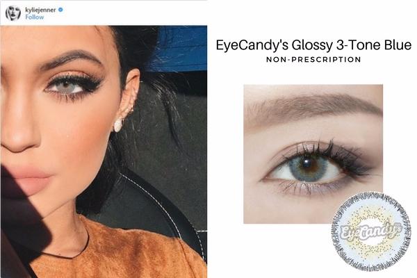 Kylie Jenner's Blue Eyes