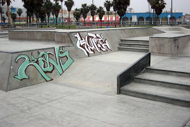 graffiti removal from skate park