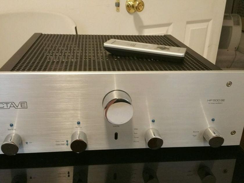 Octave Audio HP 500SE Preamplifier