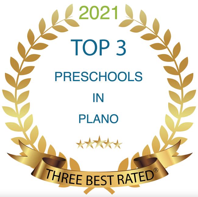 2021 Top 3 Preschool Award Winner by Three Best Rated