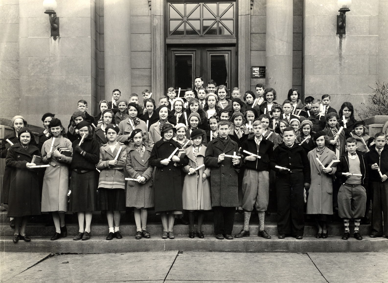 Vacation Reading Club 1933