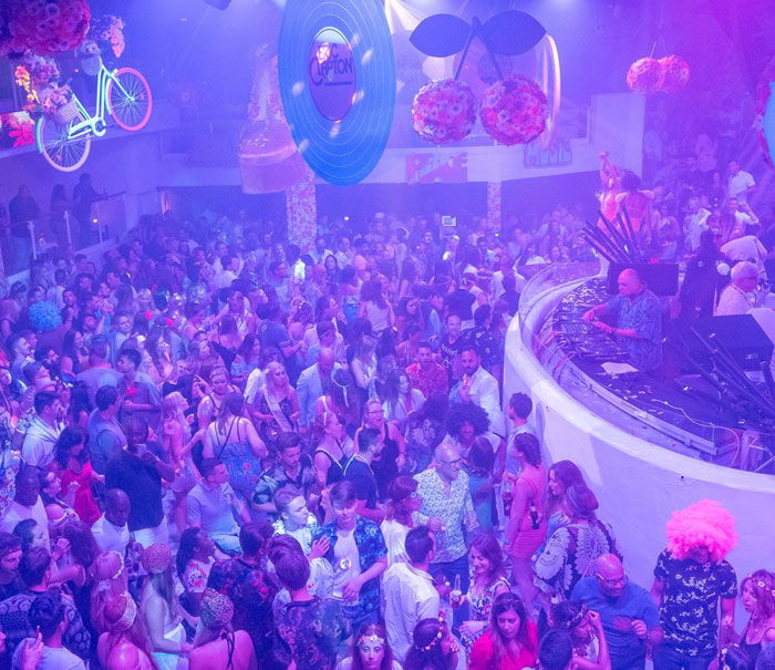 Pacha Ibiza nightclub guide, flower power party