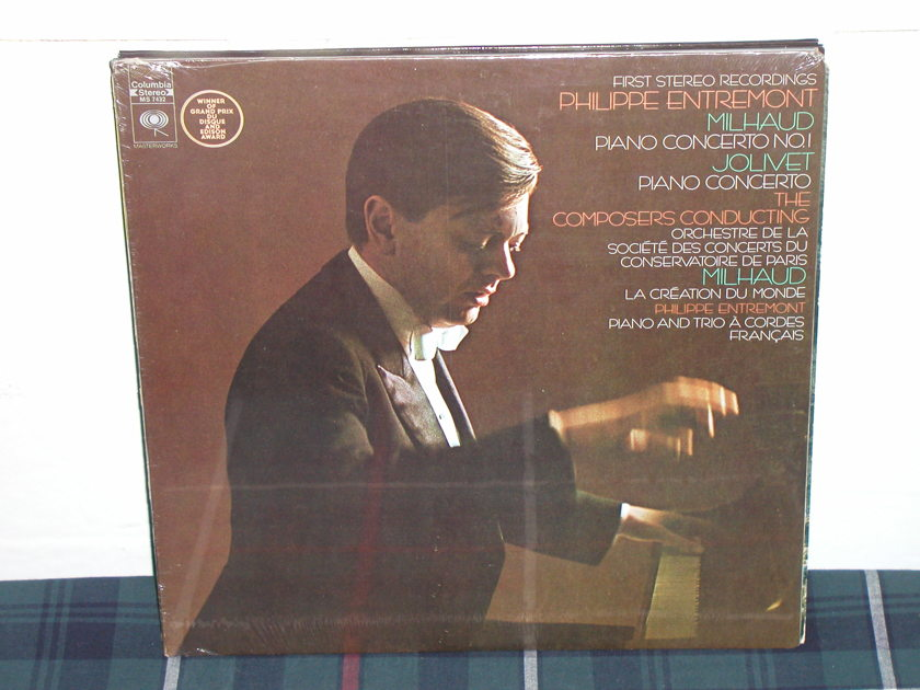 Entremont - Milhaud/Jolivet Columbia SEALED LP(thick)