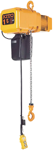 Kito series ER electric chain hoists