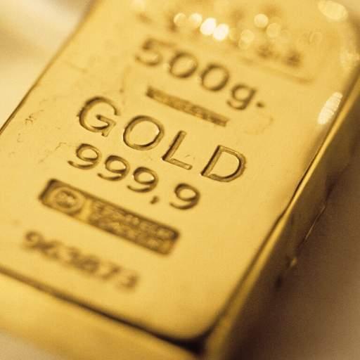 Gold stamp 999,9