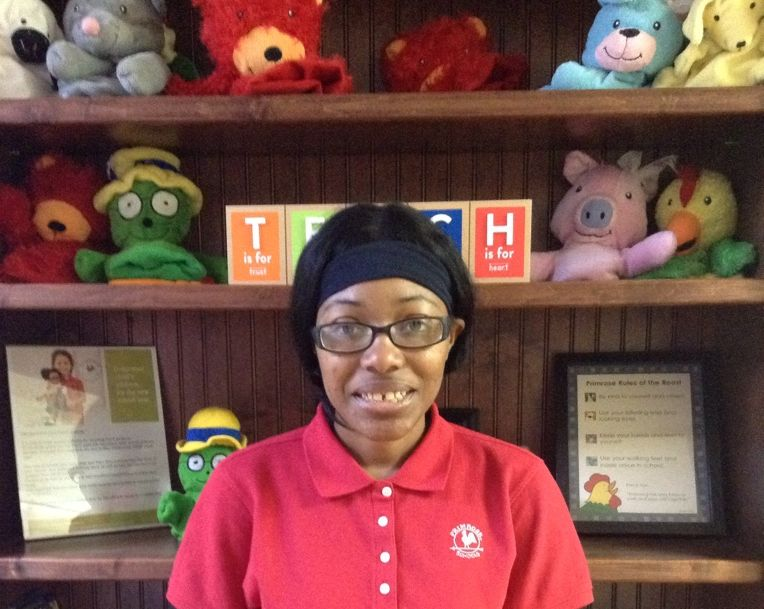 Ms. Brianna Grubbs , Support Staff Member - Infant