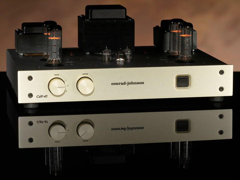 Conrad Johnson CAV45 / CAV-45 Vacuum-Tube Control Amplifier