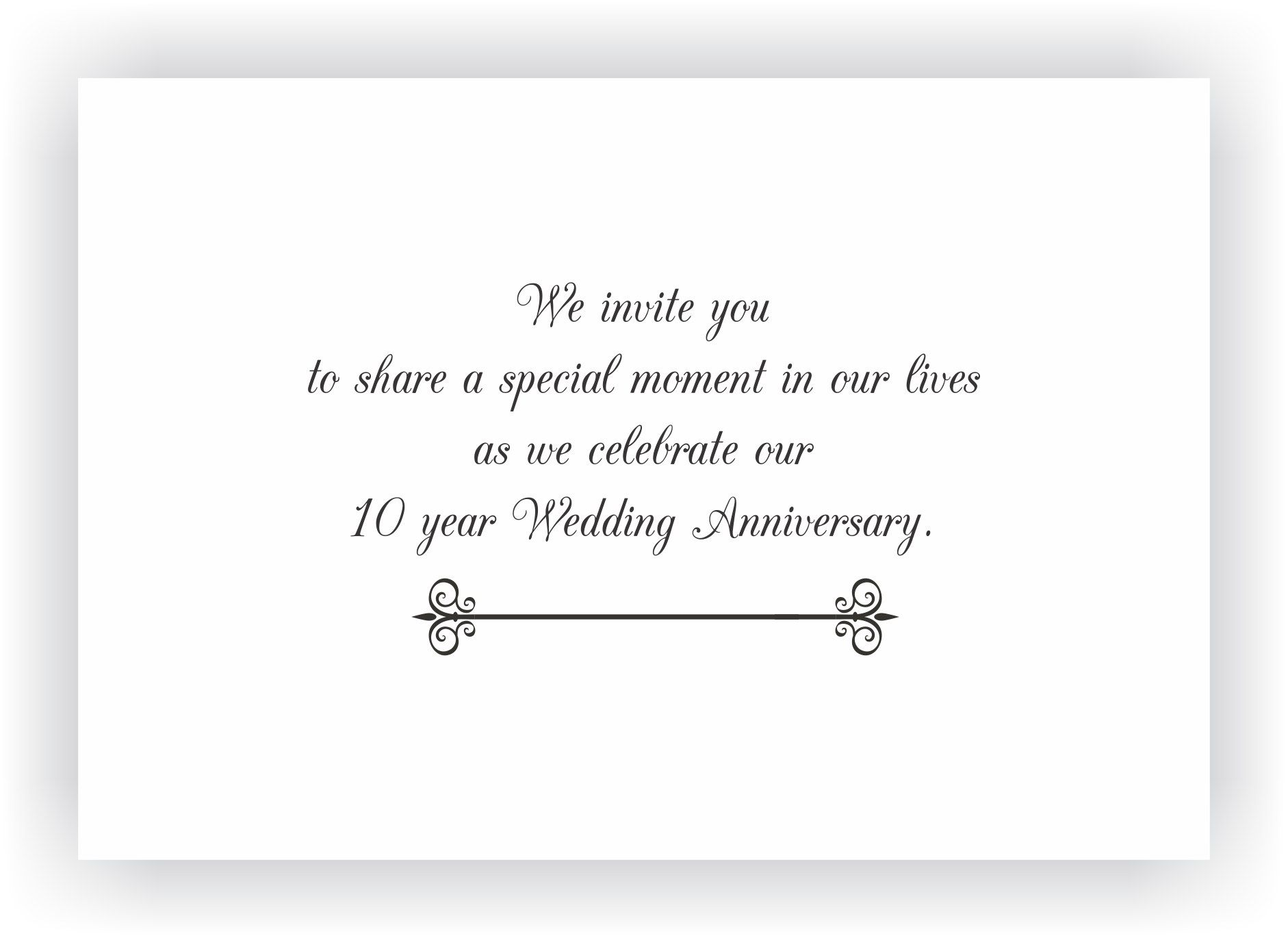 Marriage Anniversary Invitation Messages | Invitation of wedding ...