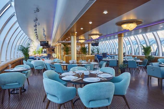 Круиз на борту белоснежной яхты-рыбного ресторана