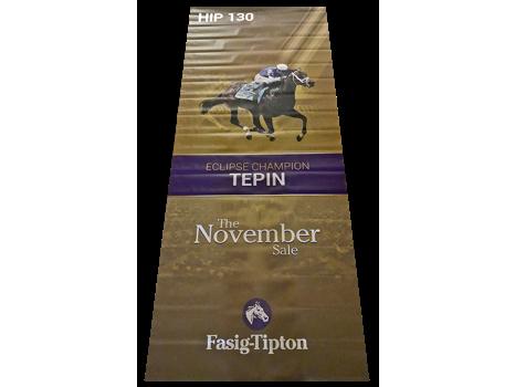 Tepin Fasig-Tipton Sales Banner