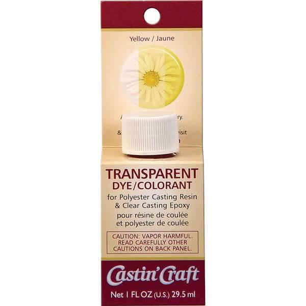Buy yellow transparent resin epoxy dye
