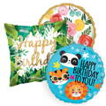 Hello Party standard foil Balloons