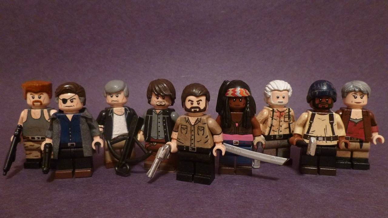 The Walking Dead LEGO Minifigures
