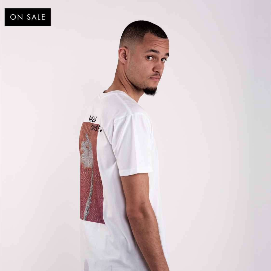 Glitch T-shirt - White