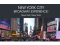 New York City Broadway Experience