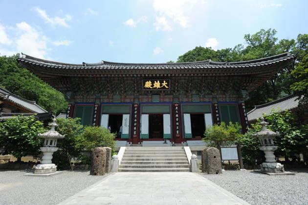 Буддийский монастырь Ссангеса, национальный парк Чирисан, Маисан