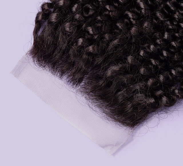 Curly Natural Black Closures Mayvenn