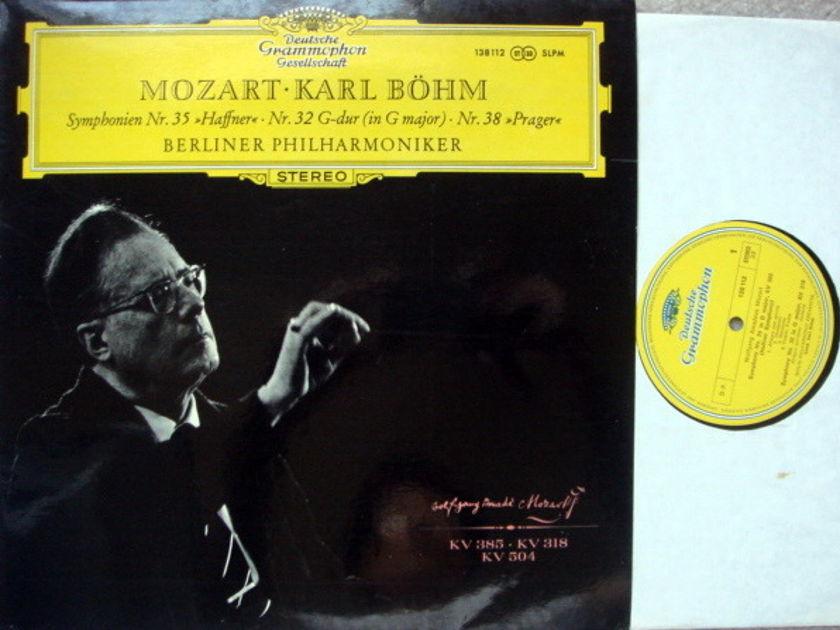 DGG / BOHM-BPO, - Mozart Symphonies No.32, 35 & 38, MINT!