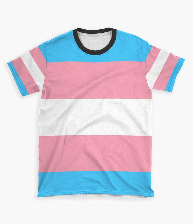 transexual pride shirt