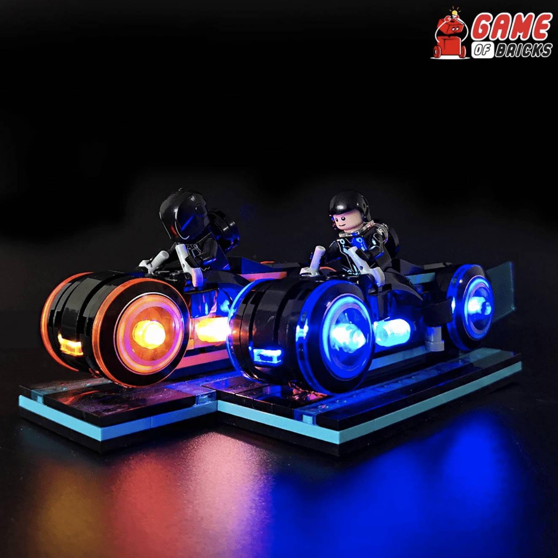lego night light TRON- LEGACY 21314