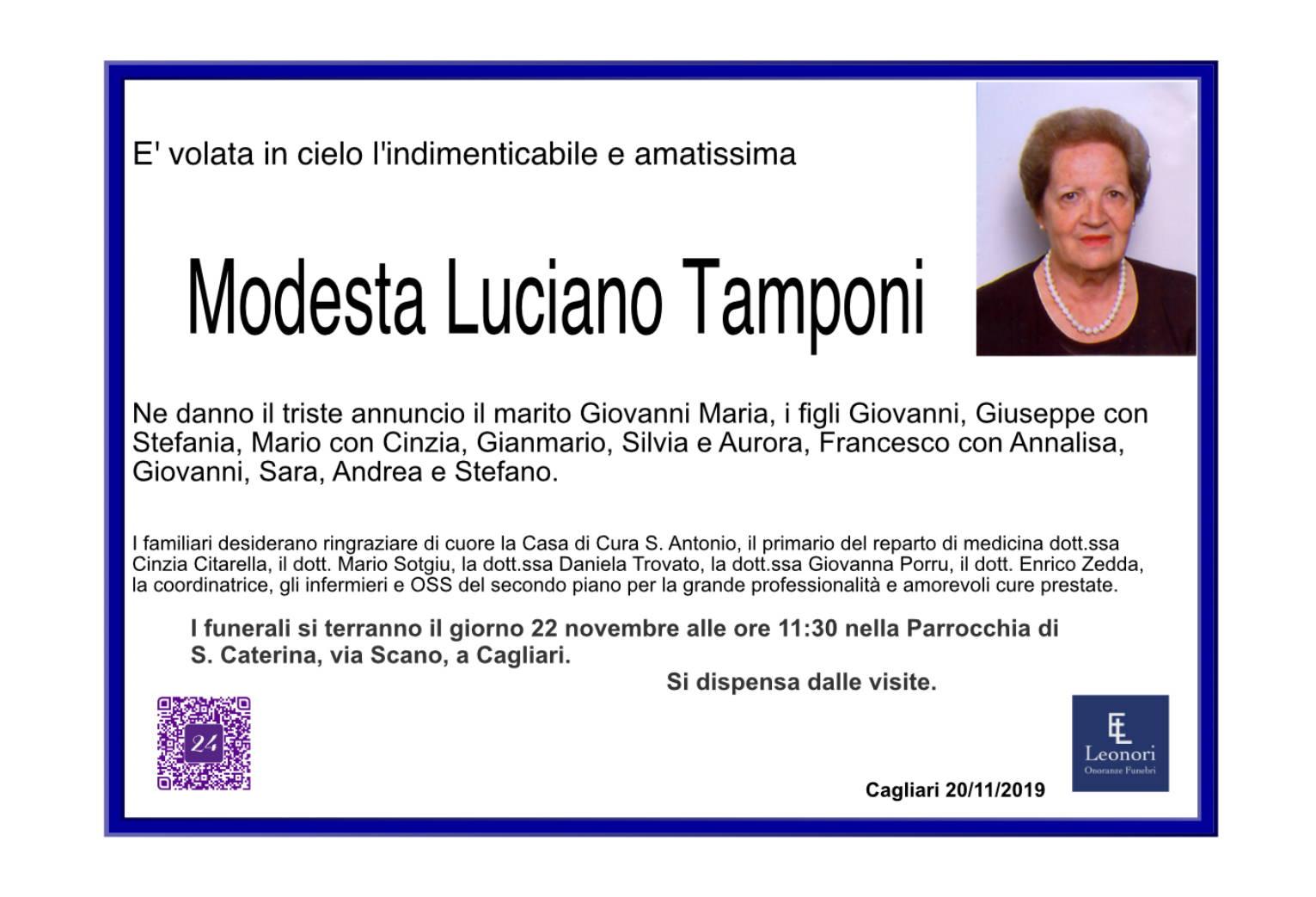 Modesta Luciano