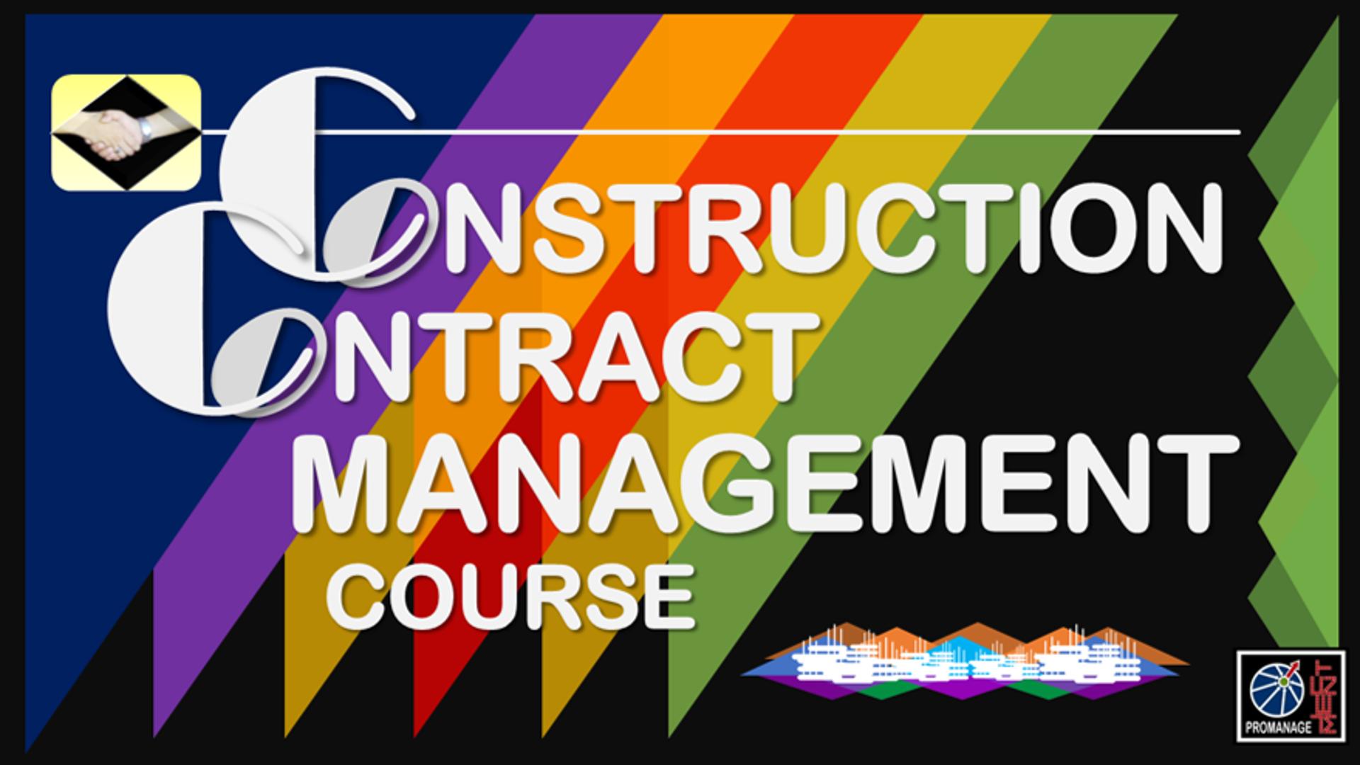 Construction Contract Management Course
