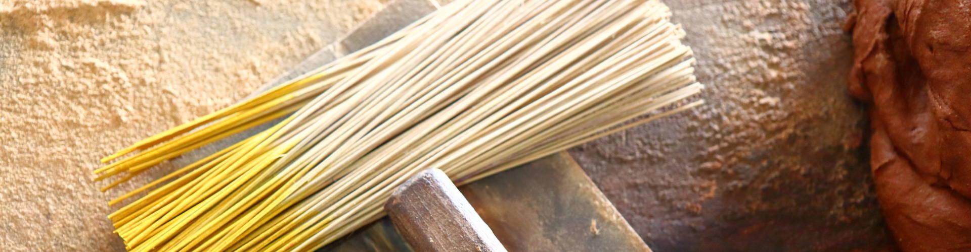 how incense making handwork