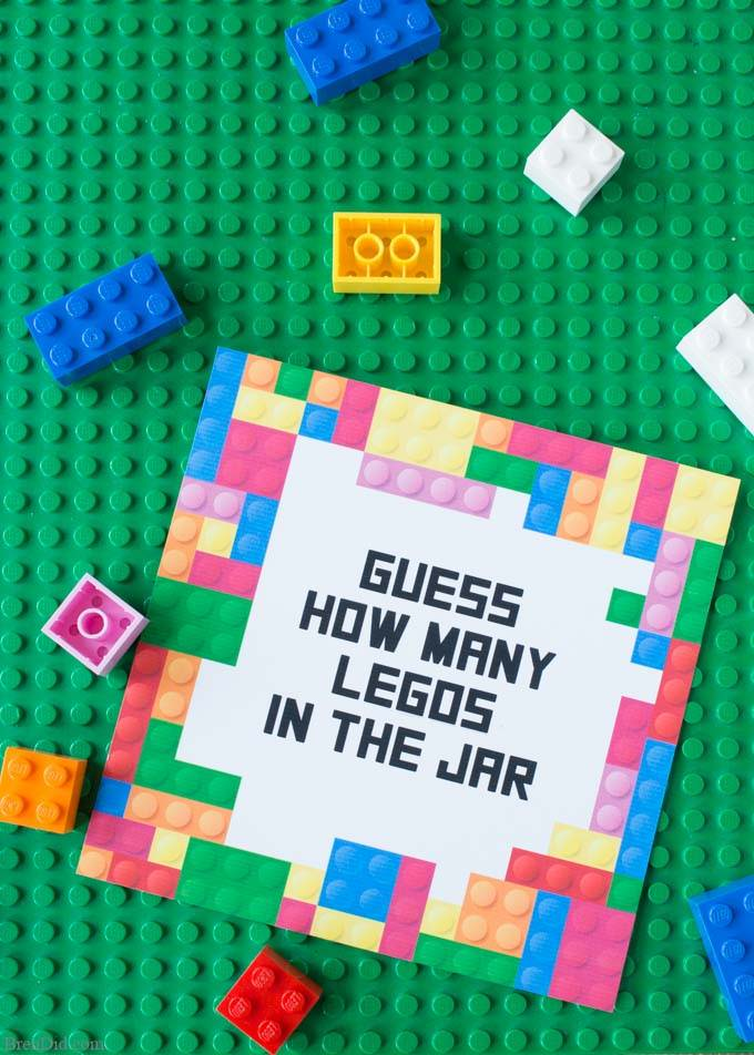 lego guessing game