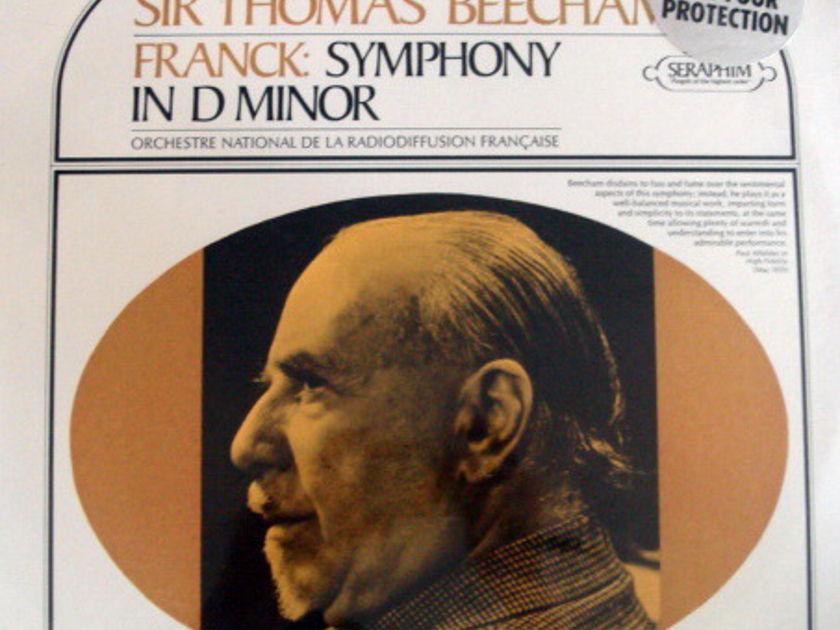 ★Sealed★ EMI SERAPHIM / - BEECHAM, Franck Symphony in D!