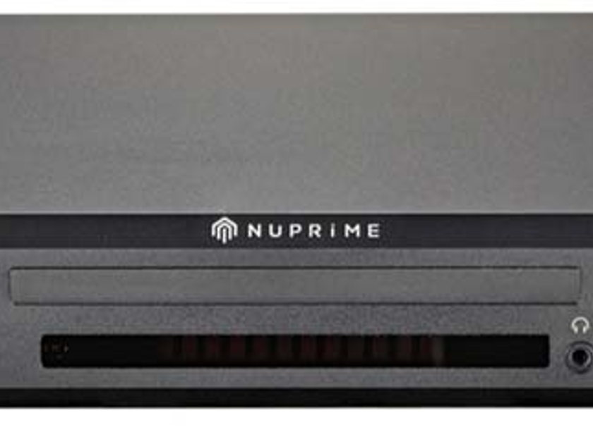 NuPrime CDP-9 All-in-1 Preamp DAC Player - Awesome!