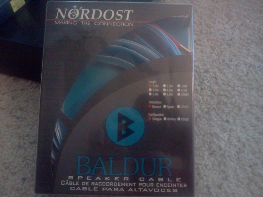 Nordost Baldur 2M Shotgun banana PLEASE READ