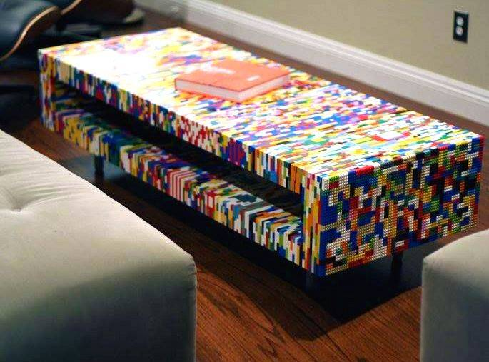 DIY LEGO coffee table
