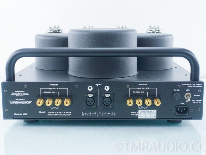 BAT VK-75SE Stereo Power Amplifier (9353)