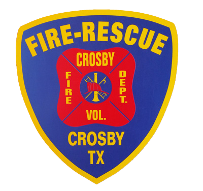 Crosby Fire Rescue Logo
