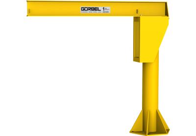 potence gorbel, gorbel jib crane