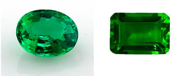 Emerald gemstone yves lemay jewelry