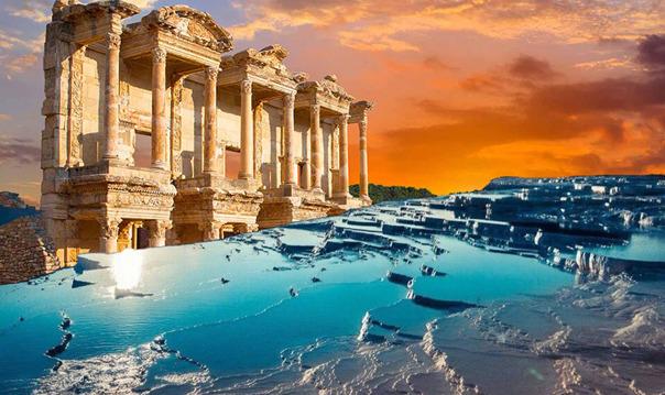 Экскурсия в Эфес и Памуккале на 2 дня