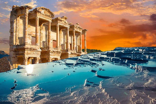 Экскурсия в Эфес+Памуккале на 2 дня