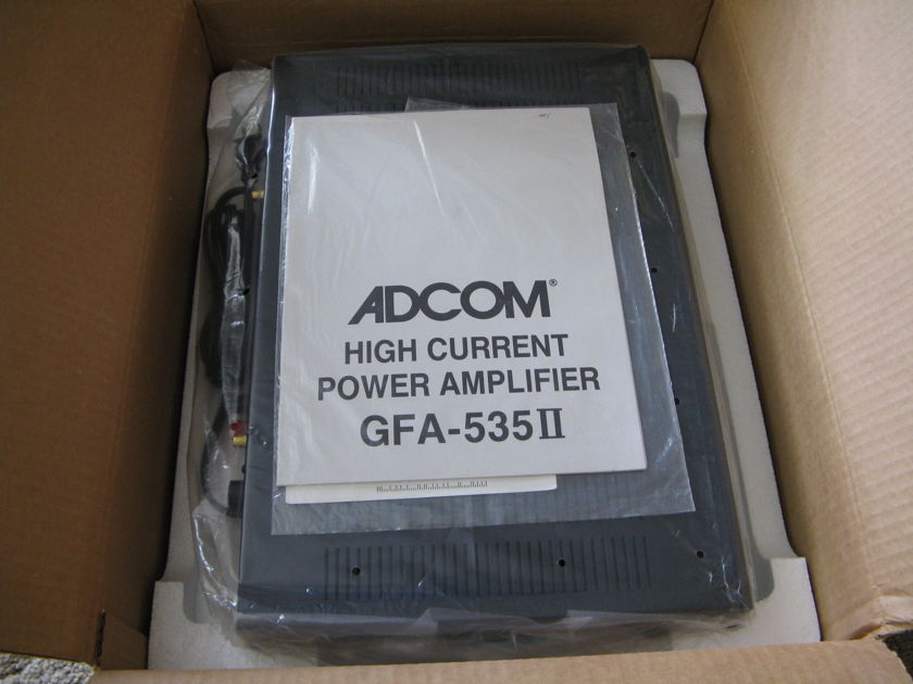 Adcom 535II amp