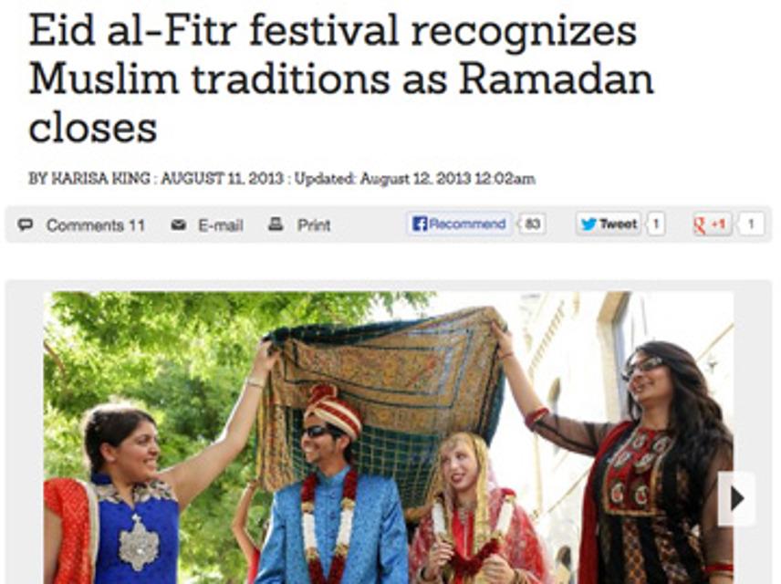 EID, Festival