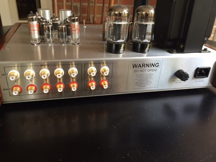 Emotive Audio Sira line stage preamp Vintage beauty! Exclnt