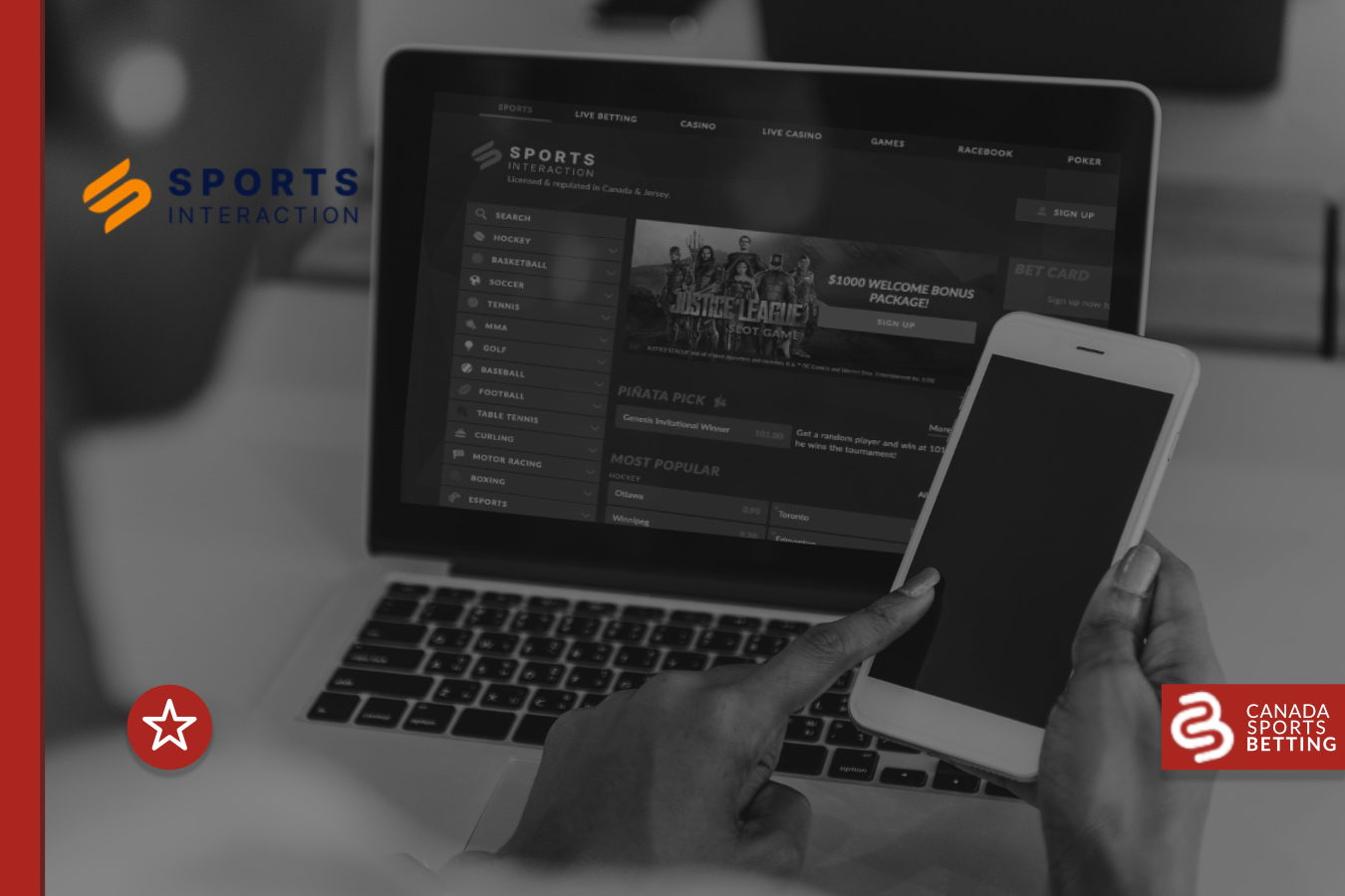 Sports Interaction (SIA) New Streaming Service!