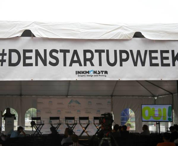 Art & Posters - Denver Startup Week Tent Banner