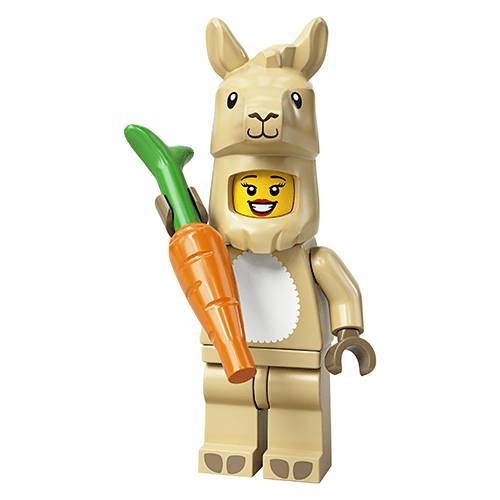 The Llama Costume Girl