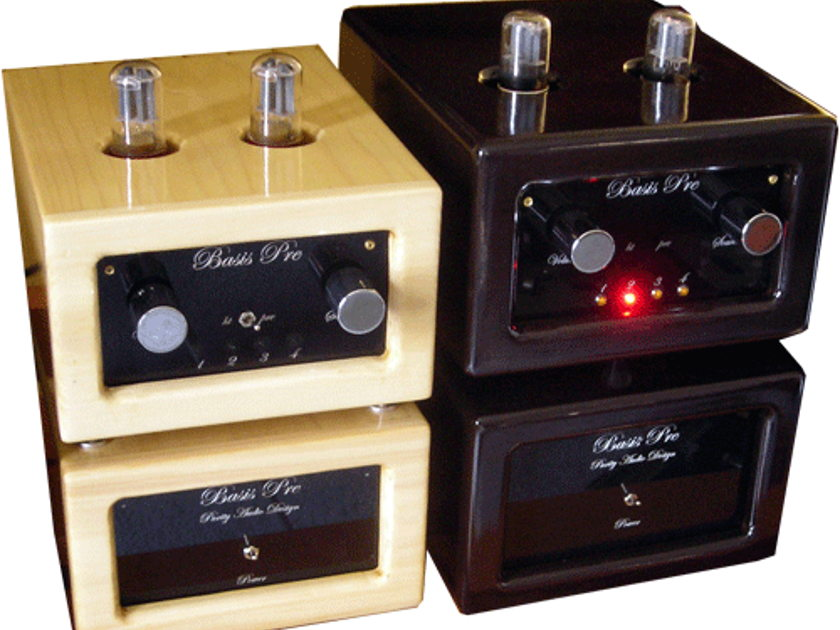 Purity Audio Design Basis MK2 Class A 6SN7 twin chassis preamp Last chance at special price