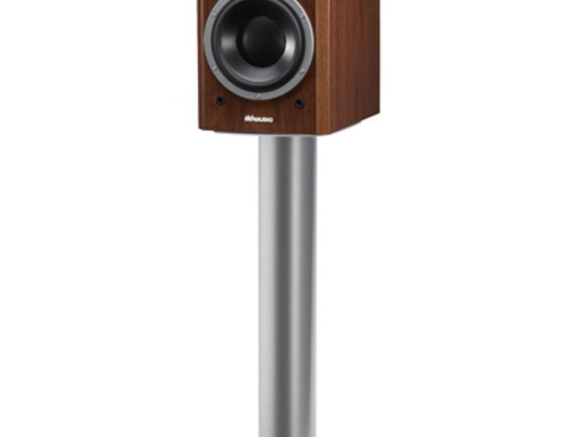 Dynaudio Stand6 unopened high-performance speaker stand in black satin